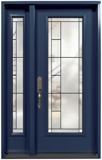 Porte Acier Verre Sélect Endrick Bleu
